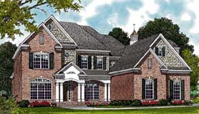 Traditional House Plan 85411 Elevation