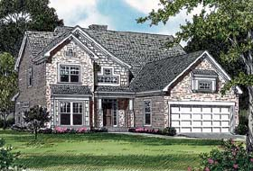House Plan 85415