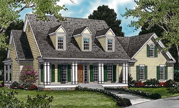 Farmhouse House Plan 85416 Elevation