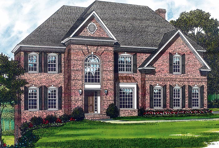 Traditional House Plan 85421 Elevation