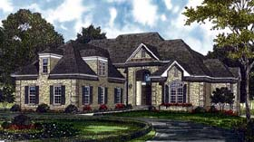 Traditional House Plan 85423 Elevation