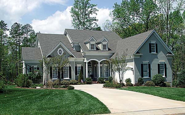 Cottage House Plan 85426 with 4 Beds, 4 Baths, 2 Car Garage Elevation
