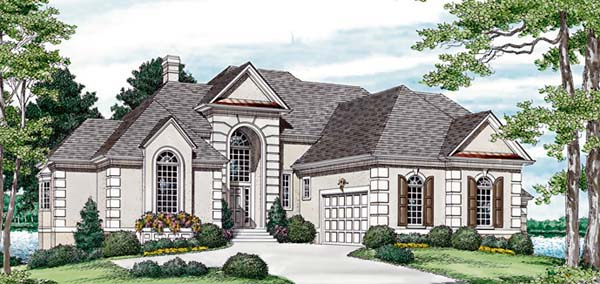 Traditional House Plan 85432 Elevation
