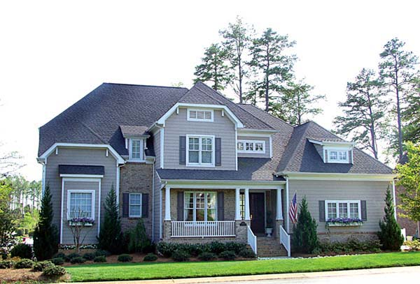Cottage, Craftsman House Plan 85435 with 5 Beds, 5 Baths, 2 Car Garage Front Elevation