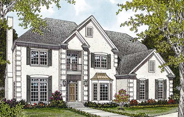 Traditional House Plan 85438 Elevation
