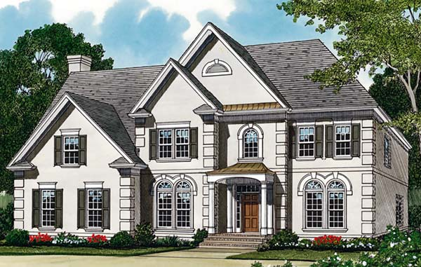 Traditional House Plan 85439 Elevation