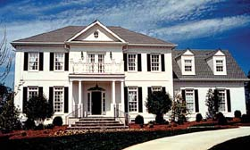 Colonial Traditional House Plan 85443 Elevation