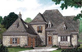 European House Plan 85452 Elevation
