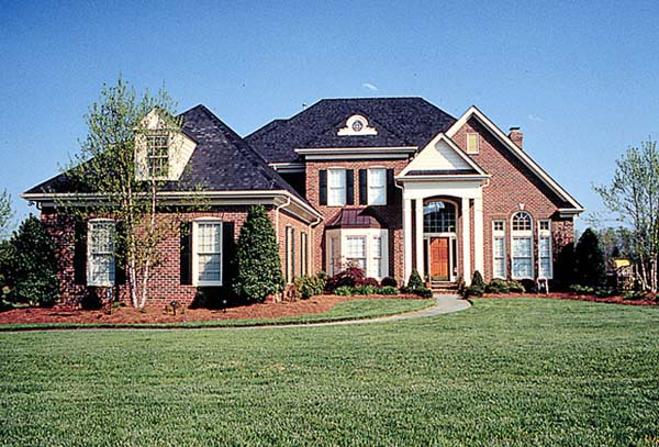 Colonial Traditional House Plan 85453 Elevation