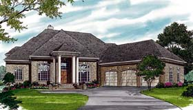 Traditional House Plan 85460 Elevation