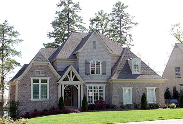 European House Plan 85461 with 5 Beds, 5 Baths, 2 Car Garage Elevation