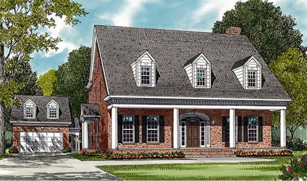 Farmhouse House Plan 85462 Elevation