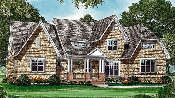 Cottage Craftsman House Plan 85463 Elevation