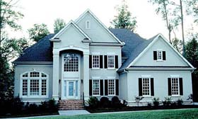 Traditional House Plan 85466 Elevation