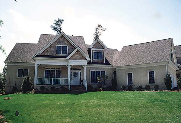 Cottage, Traditional House Plan 85475 with 4 Beds , 5 Baths , 2 Car Garage Elevation