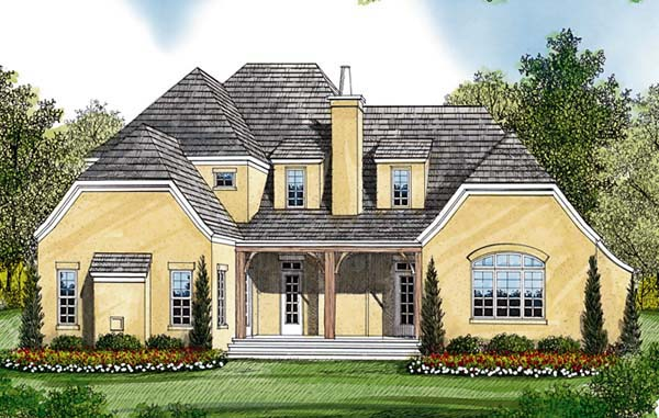 Cottage European House Plan 85479 Rear Elevation