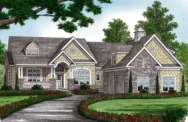 Cottage Craftsman House Plan 85481 Elevation