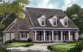 Colonial House Plan 85483 Elevation