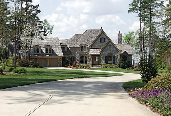 European House Plan 85485 with 3 Beds, 5 Baths, 3 Car Garage Elevation