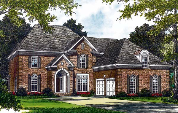 Traditional House Plan 85487 Elevation