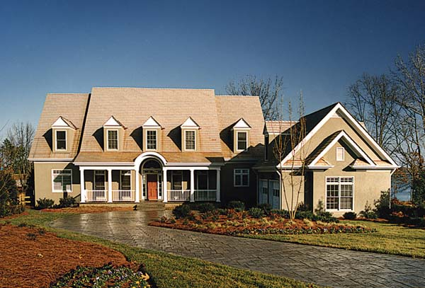 House Plan 85490 with 4 Beds, 4 Baths, 2 Car Garage Elevation