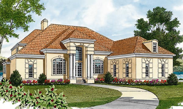 Mediterranean House Plan 85491 Elevation
