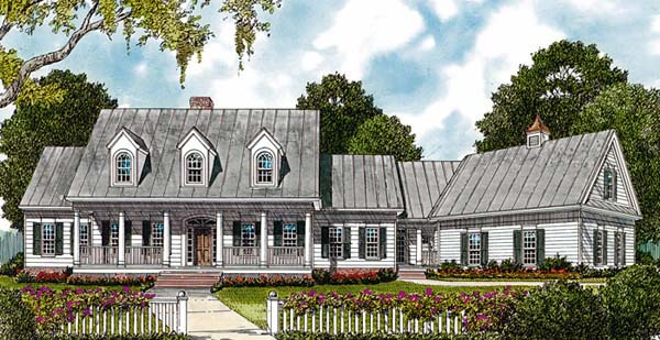 Country House Plan 85493 Elevation