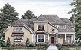 Cottage Craftsman House Plan 85494 Elevation