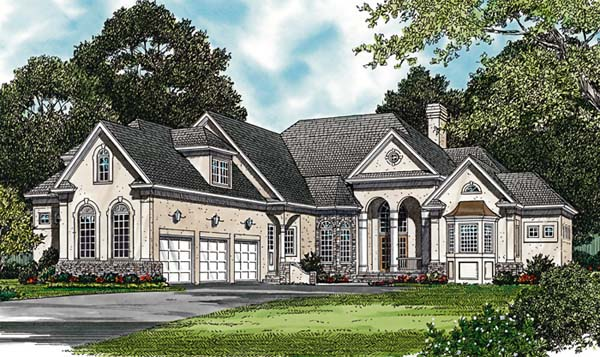 Traditional House Plan 85496 Elevation