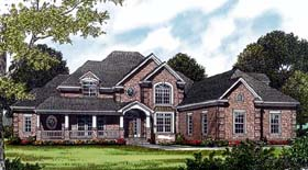 Traditional House Plan 85499 Elevation
