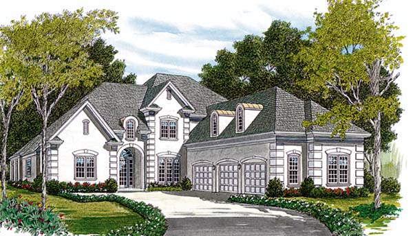 Traditional House Plan 85502 Elevation