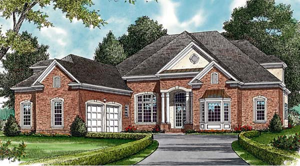 Traditional House Plan 85504 Elevation