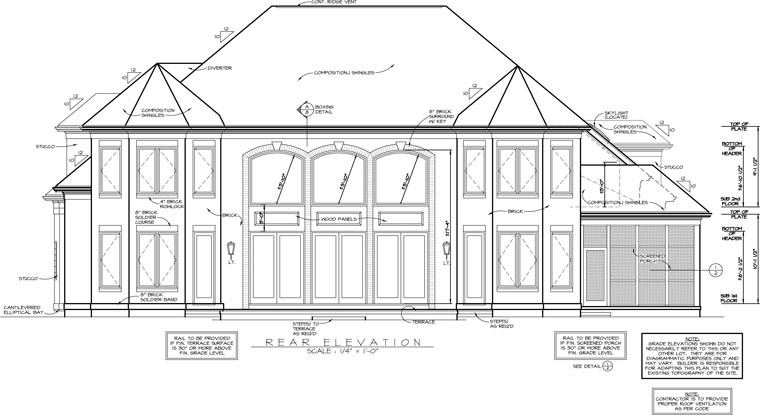 Traditional House Plan 85504 Rear Elevation