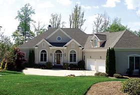 House Plan 85506 | Traditional Style Plan with 4943 Sq Ft, 5 Bedrooms, 5 Bathrooms, 3 Car Garage Elevation