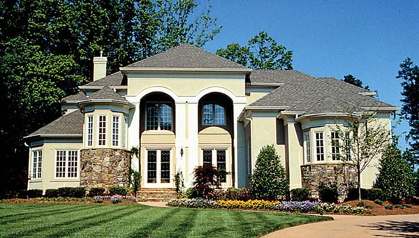 Mediterranean Traditional House Plan 85512 Elevation