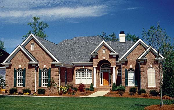 Traditional House Plan 85513 Elevation