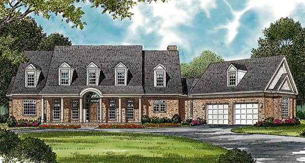 Country House Plan 85514 Elevation