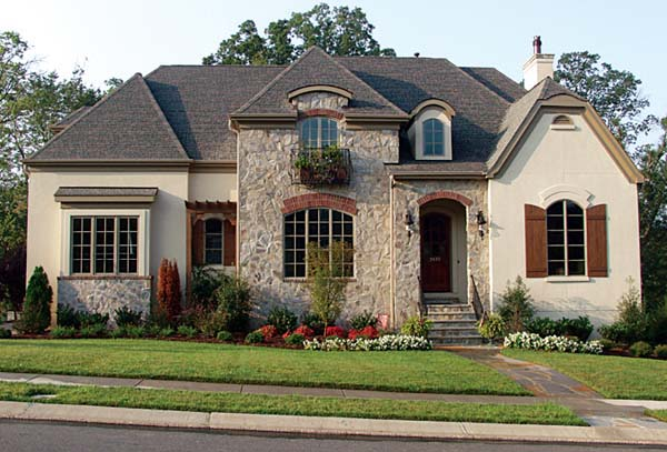 European House Plan 85519 Elevation