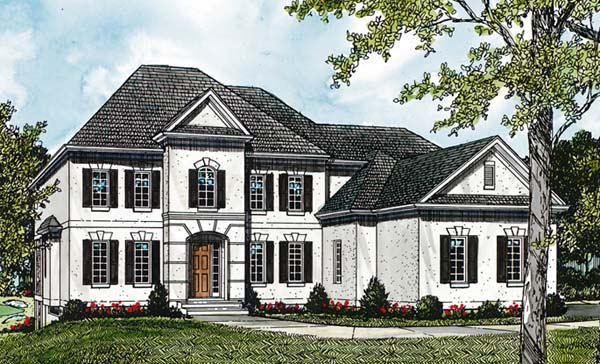 Traditional House Plan 85520 Elevation