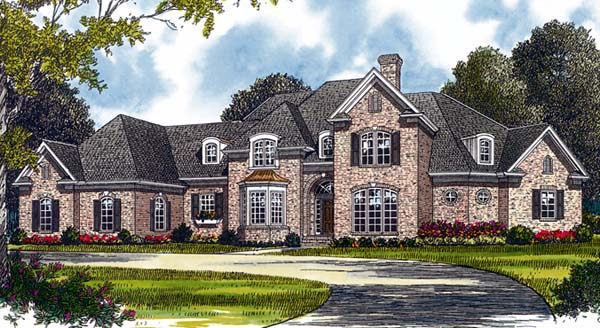 Traditional House Plan 85530 Elevation