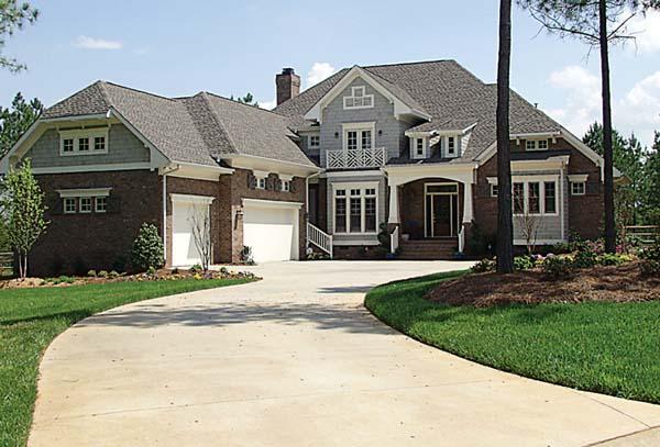 Cottage Craftsman House Plan 85536 Elevation