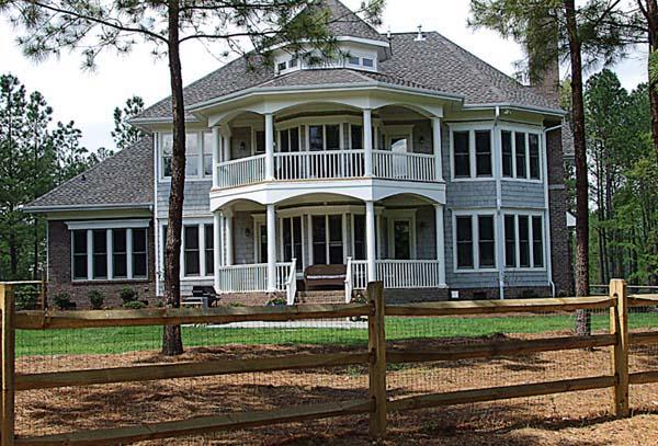 Cottage Craftsman House Plan 85536 Rear Elevation
