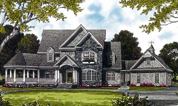 Cottage Craftsman House Plan 85537 Elevation