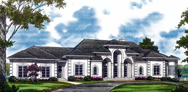 Mediterranean House Plan 85539 Elevation