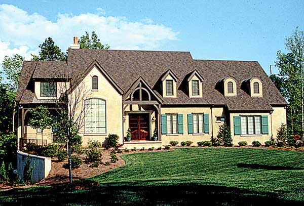 Country European House Plan 85540 Elevation