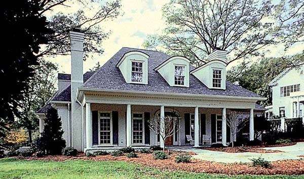 Cottage Country Farmhouse Traditional Elevation of Plan 85541