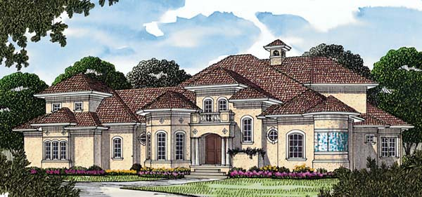 Mediterranean House Plan 85543 Elevation
