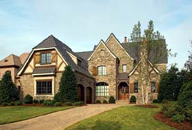 Country European House Plan 85546 Elevation