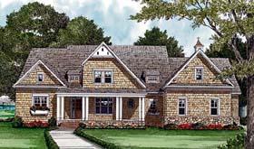 Cottage Craftsman House Plan 85548 Elevation