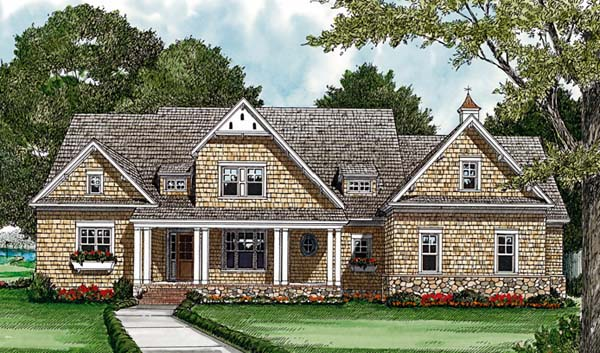 Cottage Craftsman House Plan 85548 Elevation